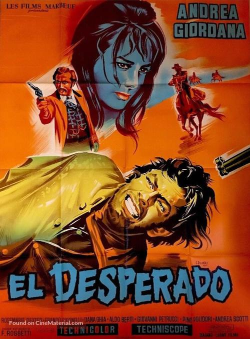 El desperado - French Movie Poster