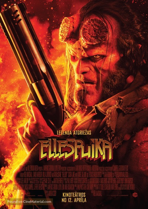 Hellboy - Latvian Movie Poster