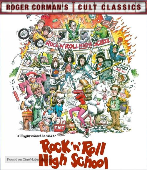 Rock 'n' Roll High School - Movie Cover