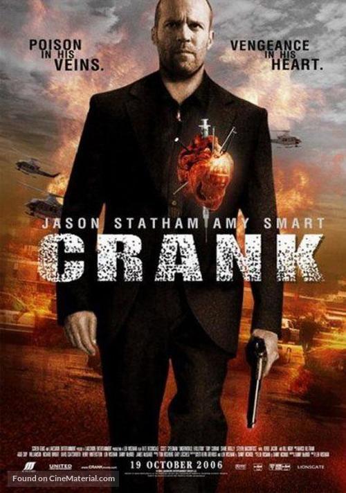 Crank - Thai Movie Poster