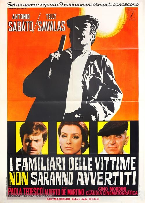 I familiari delle vittime non saranno avvertiti - Italian Movie Poster
