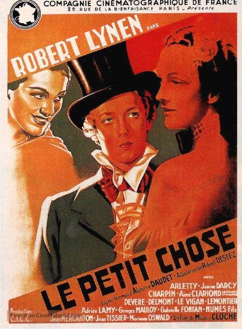 Petit chose, Le - French Movie Poster