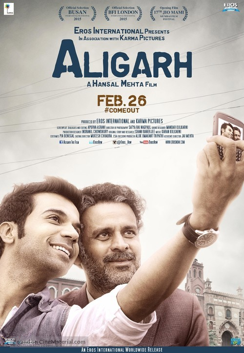 Aligarh - Indian Movie Poster