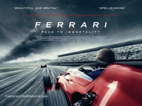 Ferrari: Race to Immortality - British Movie Poster