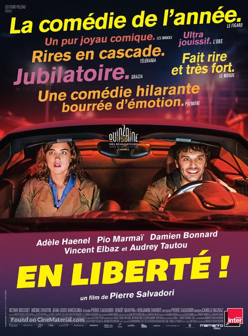 En liberté - French Movie Poster