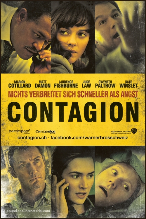 Contagion - Swiss Movie Poster