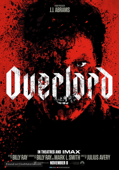 Overlord - Lebanese Movie Poster