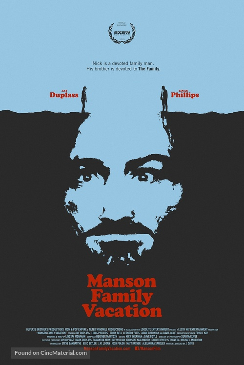 Manson Family Vacation - Movie Poster