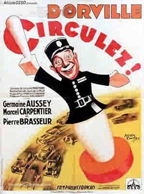 Circulez! - French Movie Poster