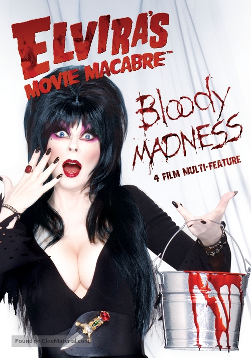 """Elvira's Movie Macabre"" - DVD cover"