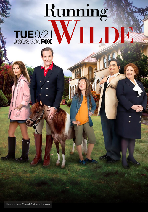 """Running Wilde"" - Movie Poster"