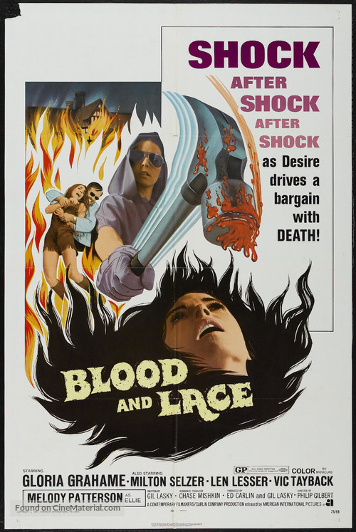 Blood and Lace - Movie Poster