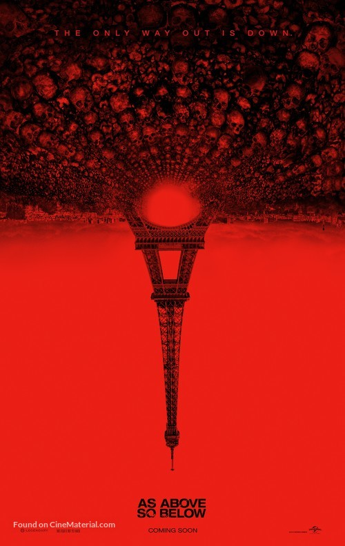 As Above, So Below - Movie Poster