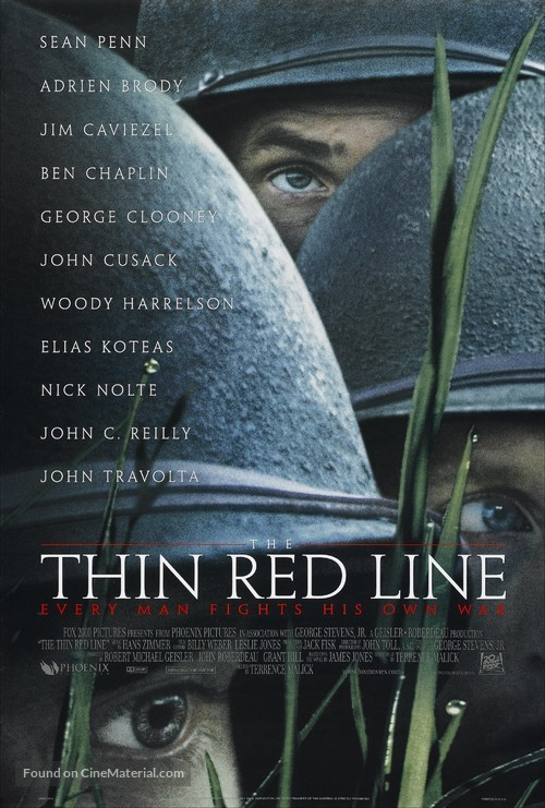 The Thin Red Line - Movie Poster