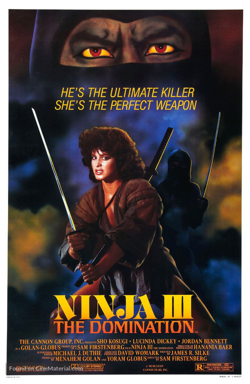 Ninja III: The Domination - Movie Poster