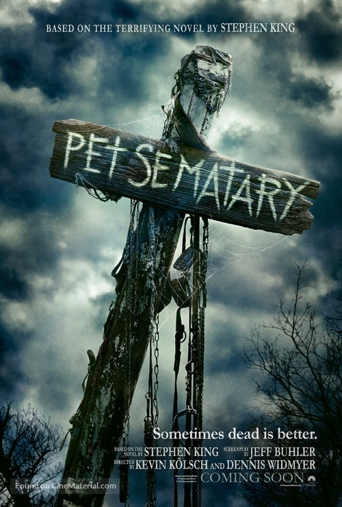 Pet Sematary - Movie Poster