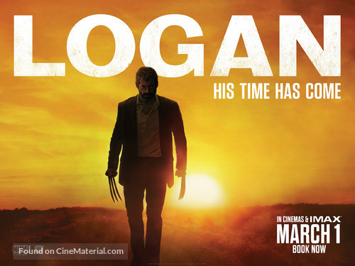 Logan - British Movie Poster