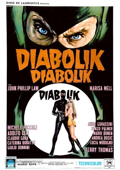 Diabolik - Italian Movie Poster
