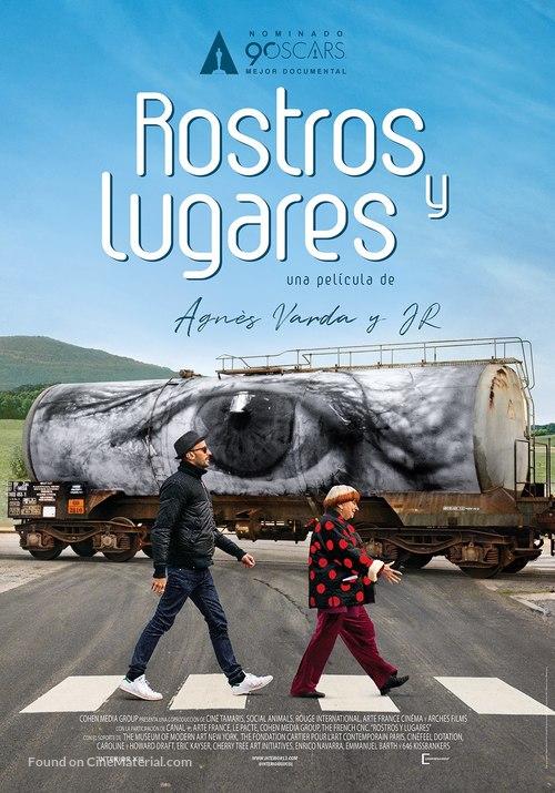Visages, villages - Colombian Movie Poster