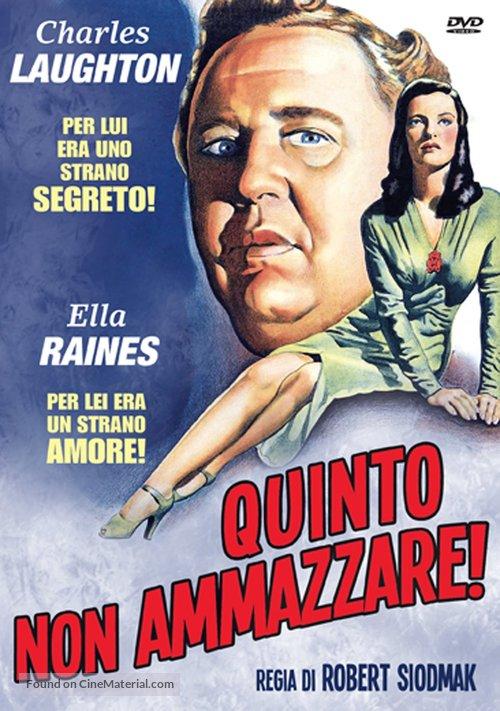 The Suspect - Italian DVD cover