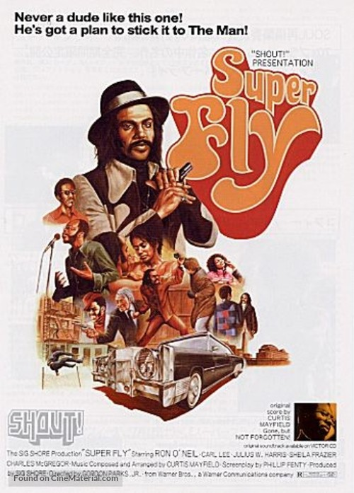 52bc15ca87d Superfly movie poster