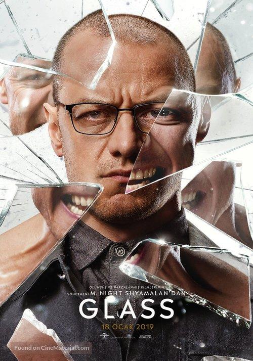Glass - Turkish Movie Poster