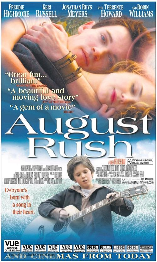 august rush movie songs