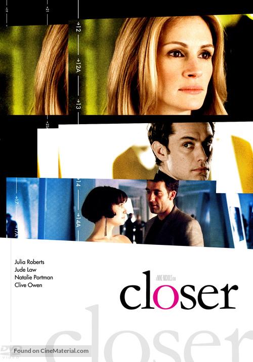 Closer - DVD cover