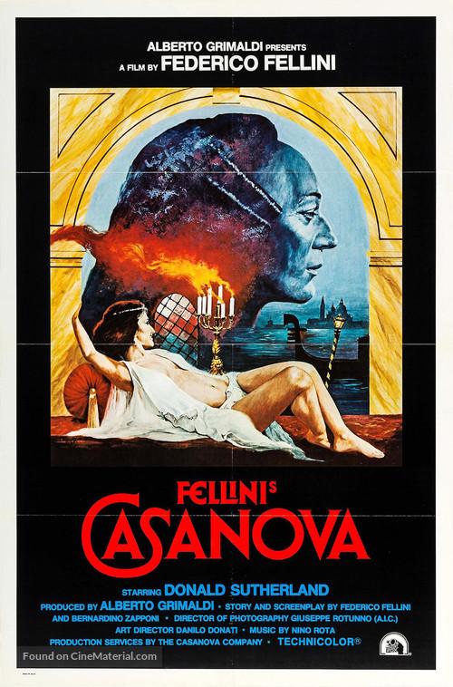 Il Casanova di Federico Fellini - Movie Poster