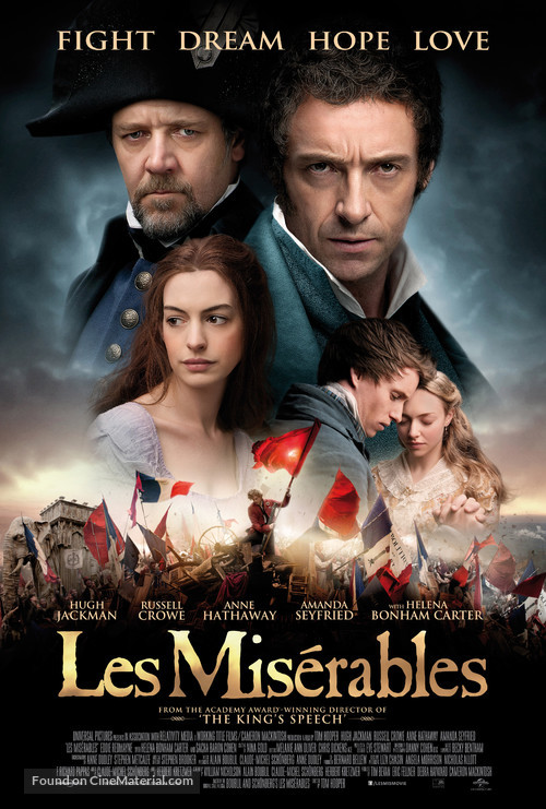 Les Misérables - Movie Poster