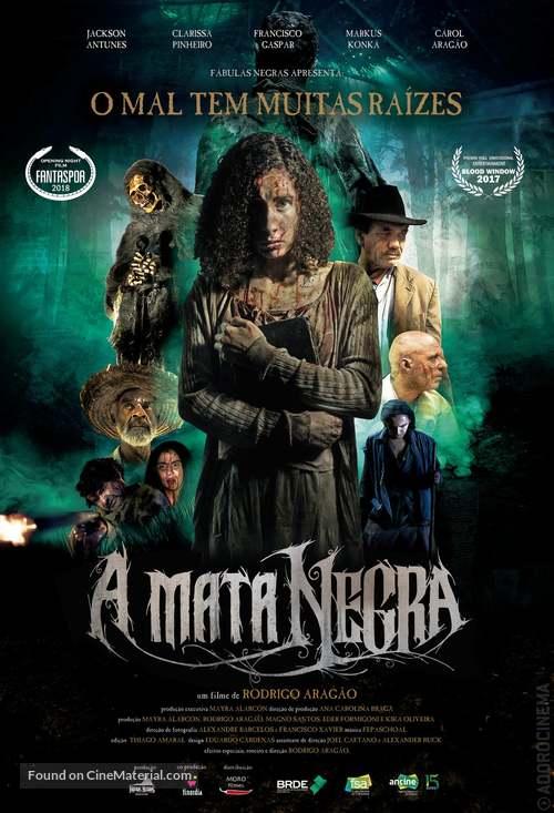 El bosque negro - Brazilian Movie Poster