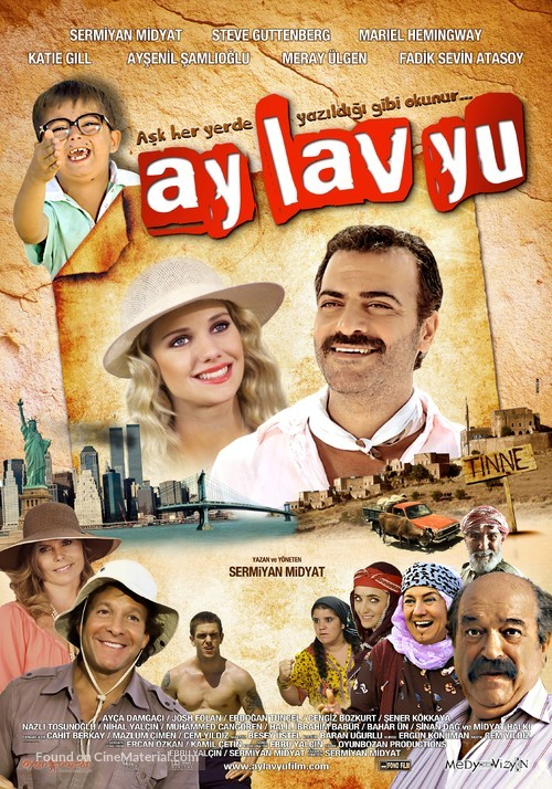 Ay Lav Yu - Turkish Movie Poster
