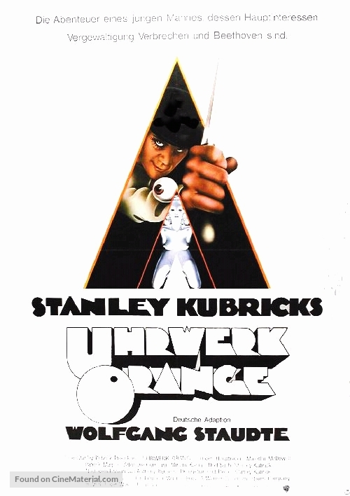A Clockwork Orange - German Movie Poster