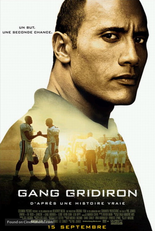 Gridiron Gang - Canadian Movie Poster