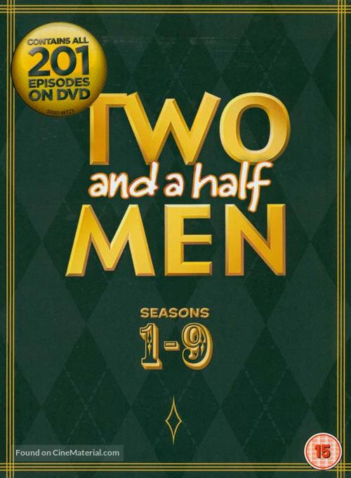 """""""Two and a Half Men"""" - British DVD movie cover"""