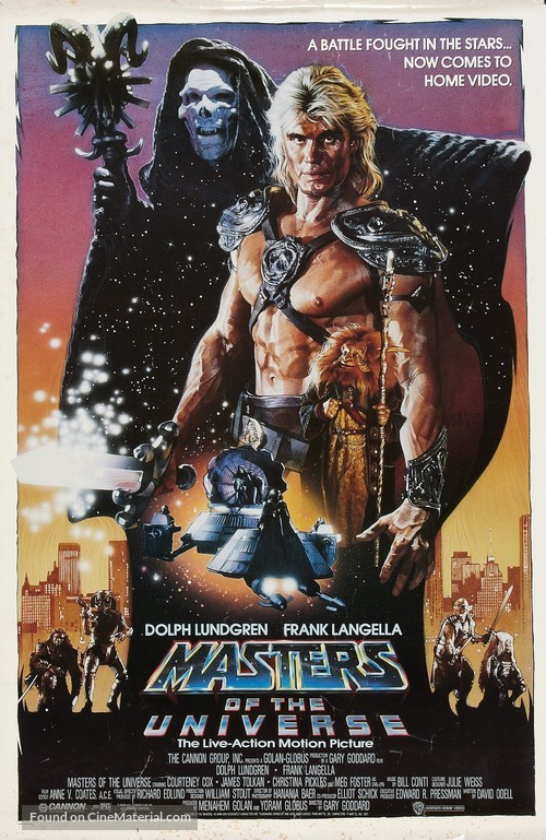 Masters Of The Universe - Movie Poster