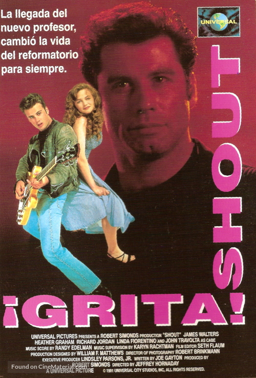 Shout - Spanish Movie Cover