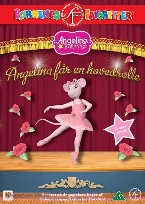 """Angelina Ballerina"" - Danish DVD movie cover"