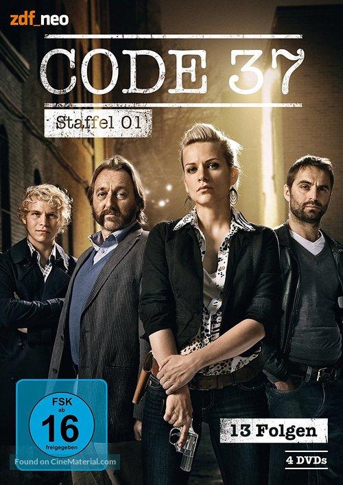 """Code 37"" - German DVD movie cover"
