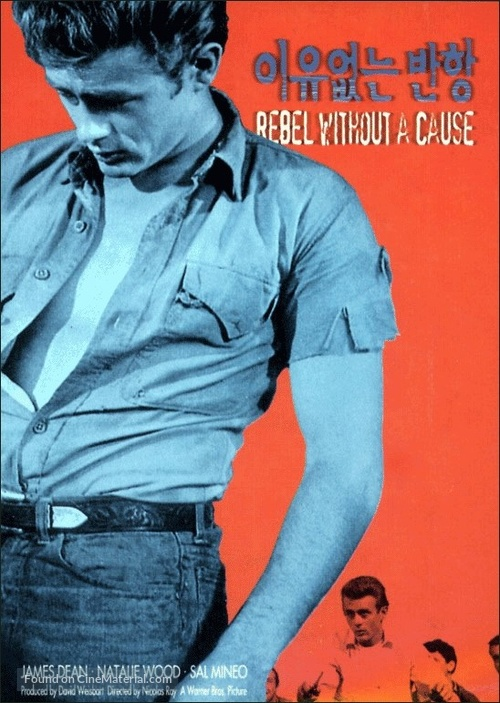 Rebel Without a Cause - South Korean Movie Poster