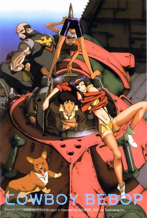 Cowboy Bebop Movie Poster