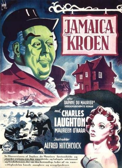 Jamaica Inn - Danish Movie Poster