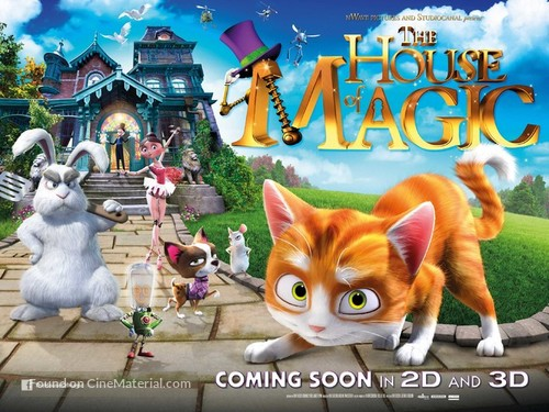 Thunder and The House of Magic - British Movie Poster