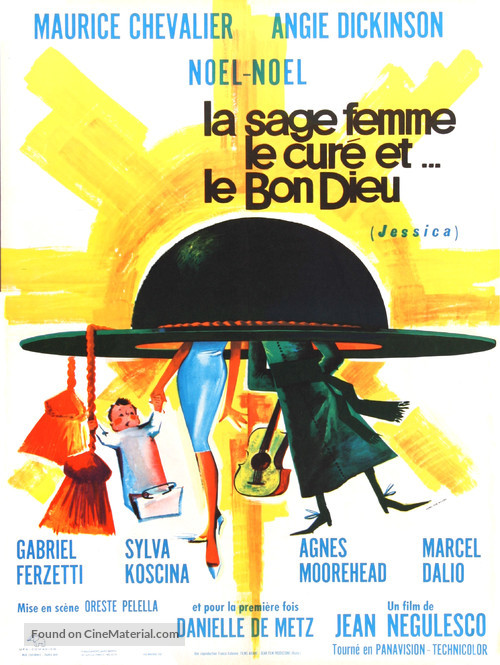 Jessica - French Movie Poster