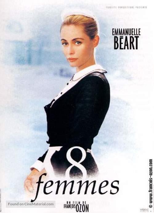 8 femmes - French Movie Poster