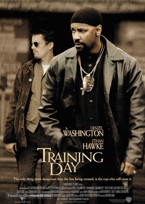 Training Day - Movie Poster