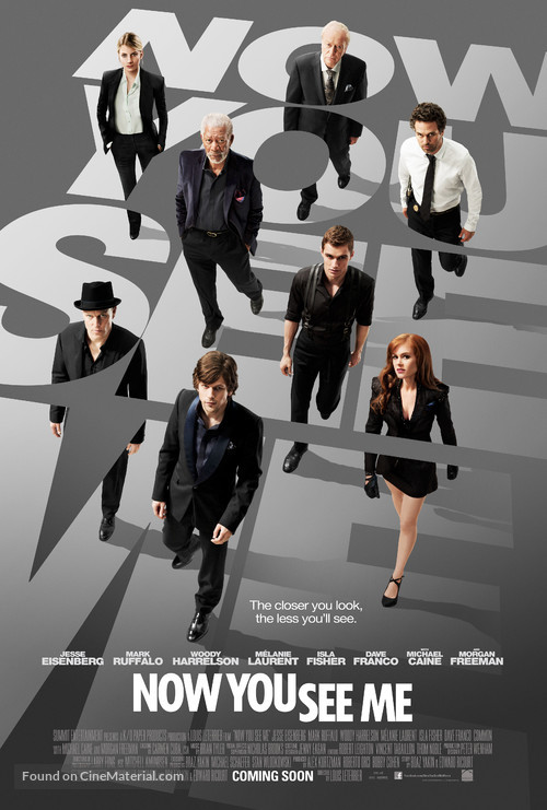Now You See Me - Movie Poster