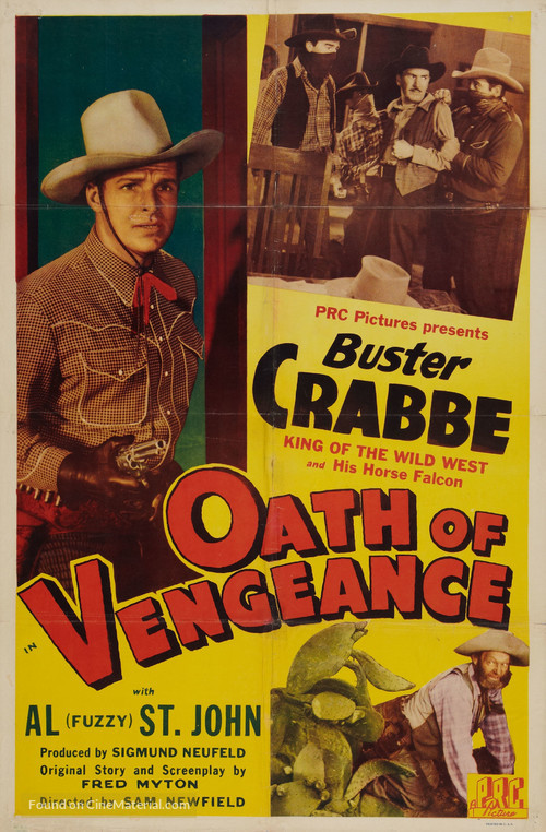 Oath of Vengeance - Movie Poster
