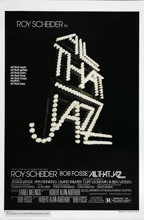All That Jazz - Movie Poster