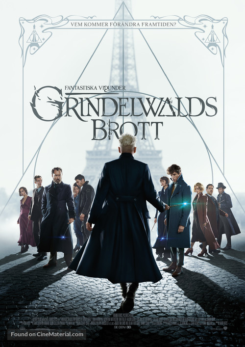 Fantastic Beasts: The Crimes of Grindelwald - Swedish Movie Poster